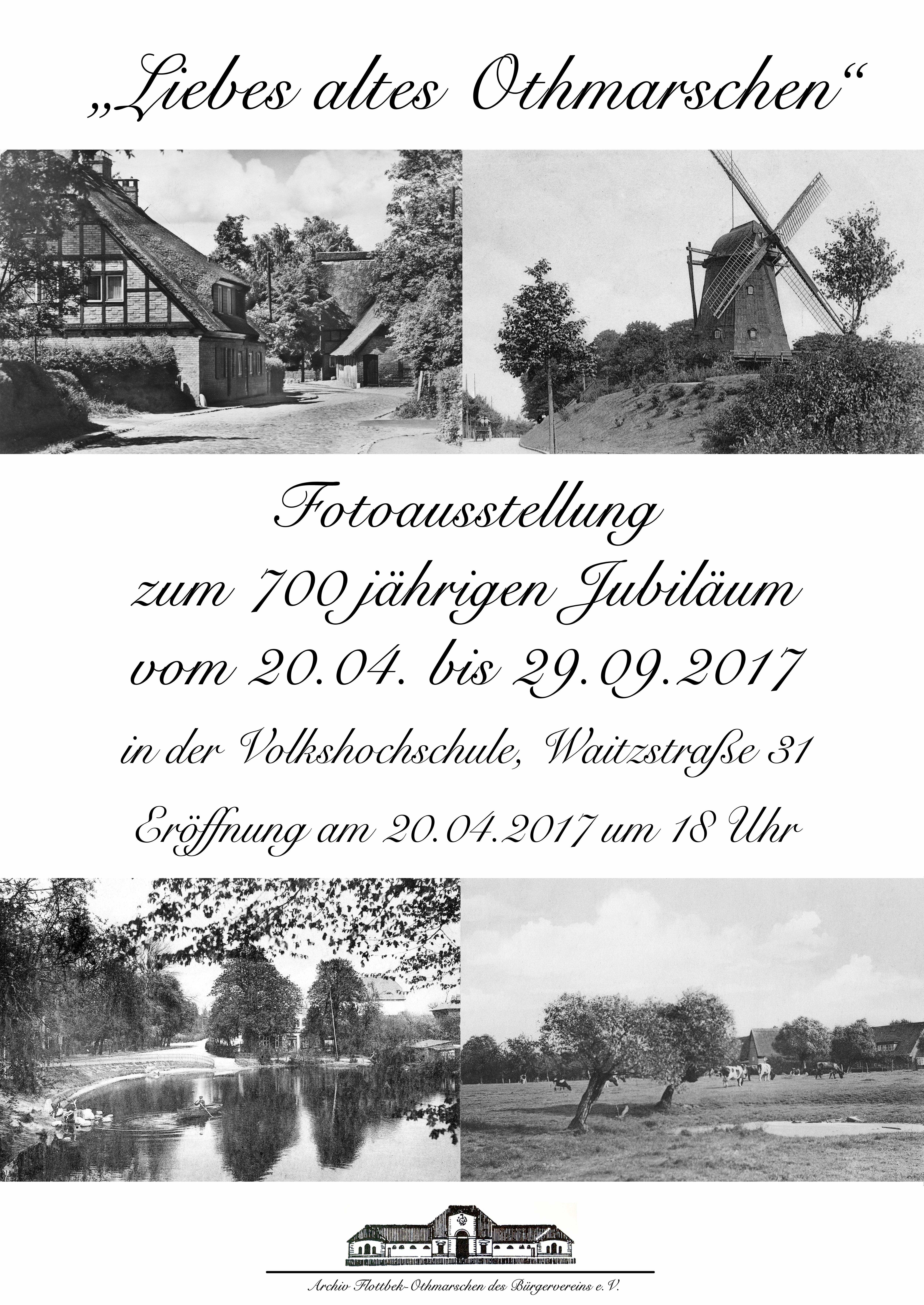 """Plakat """"Liebes Altes Othmarschen"""""""