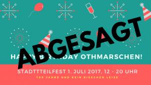 Stadtteilfest_700 Jahre Othmarschen_abgesagt